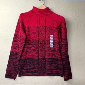 NWT Karen Scott #54 Marled Turtleneck Sweater